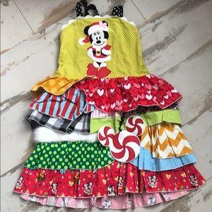 Other - Custom Minnie Disney dress sz 8